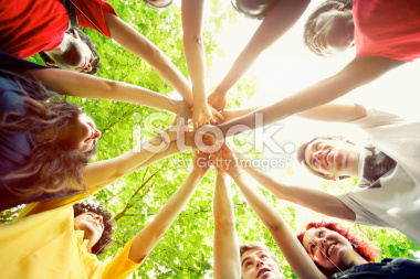 stock-photo-25530231-people-showing-unity